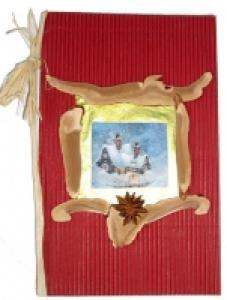 Fabriquer un Carnet de chants de Noël