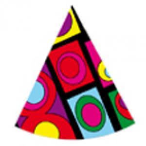 Imprimer le modèle de chapeau pointu n°2