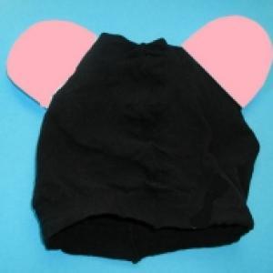 Fabriquer un bonnet de souris pour se déguiser