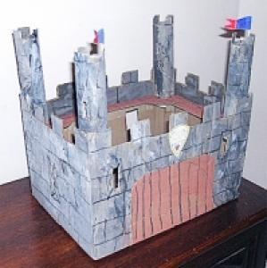 Fabriquer un chateau fort