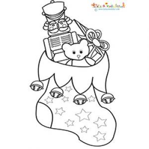 La chaussette cadeaux de Noel