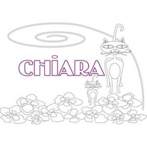 coloriage Chiara
