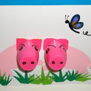 Fabriquer un tableau cochon
