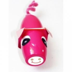 Bricolage pour fabriquer un petit cochon en pots de plastique alimentaires