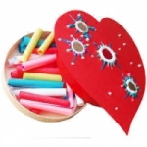 Apprendre à faire des coeurs peints pour le petit bricolage