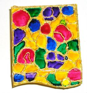 Ce Coffret décoré en cloisonné peut être offert en cadeau