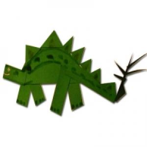 Dinosaure à Découper, coller