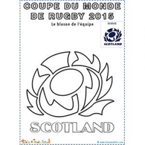 Symbole de l'équipe de rugby d'Ecosse