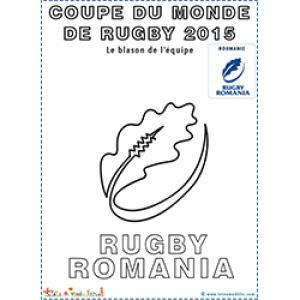 Symbole, blason de l'équipe de rugby de Roumanie