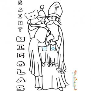 Saint Nicolas porte son gros sac