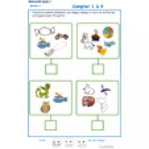 ardoise 10 : compter les éléments 1 à 6