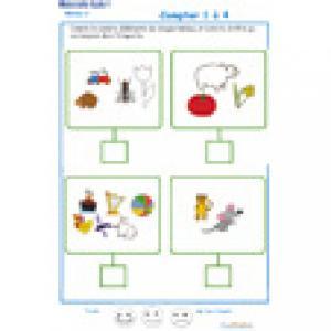 ardoise 11 : compter les éléments 1 à 6