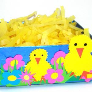 corbeille à oeufs de Pâques