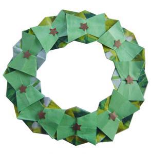 couronne en origami