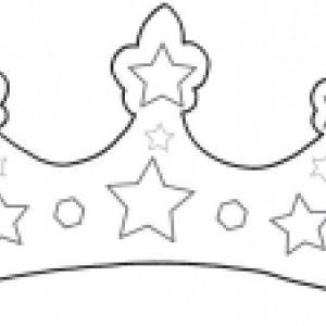 Coloriage de couronnes pour se déguiser ou pour l'épiphanie