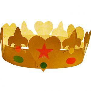 Fabriquer une couronne des rois
