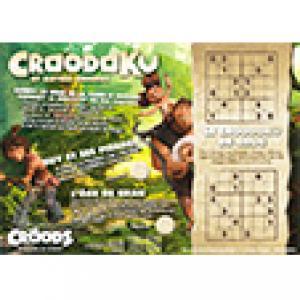 Les Croods : jeu du Croodoku