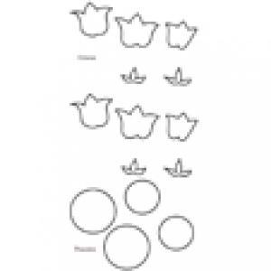 Imprimer le modèle de crocus à découper et à assembler