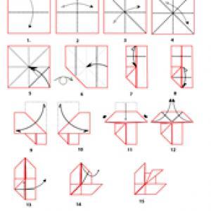 Imprimer le modèle et gabarit. Il vous permettra de créer un origami de poisson. Une activité parfaite à faire avec les enfants