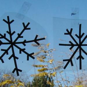 Exemple de décorations de Noël flocon