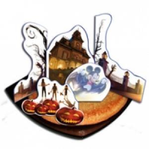 Décors gâteau d'Halloween Disneyland Paris