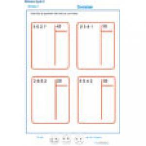 exercice 8 divisions à deux chiffres