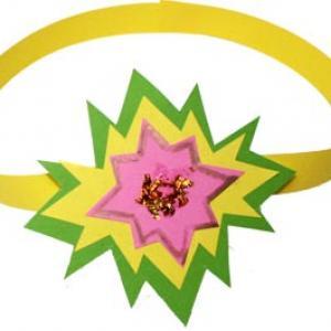 Diadème princesse à l'étoile