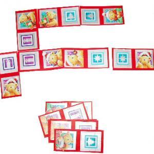 Fabriquer un jeu de dominos de Noël