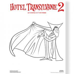 Coloriage Hôtel Transylvanie 2 : Dracula