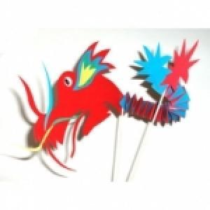 Réaliser une petite marionnette dragon chinois du nouvel an