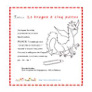 le dragon à cinq pattes