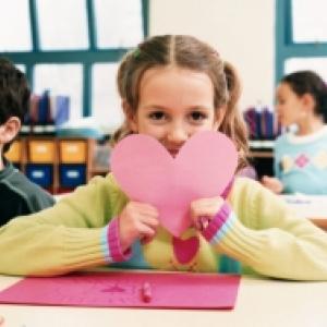 La saint valentin des enfants