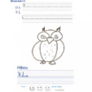 Imprimer la page d'écriture sur le hibou