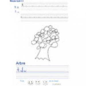 Imprimer la page d'écriture sur l'arbre