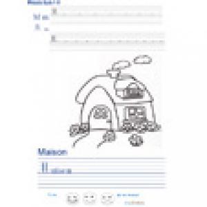 Imprimer la page d'écriture sur la maison