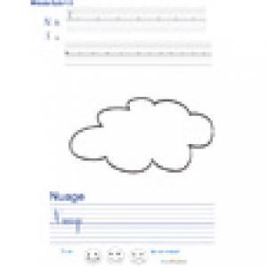 Imprimer la page d'écriture sur le nuage