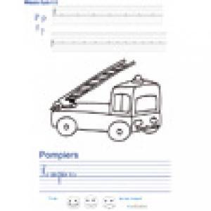 Imprimer la page d'écriture sur les pompiers