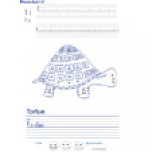 Imprimer la page d'écriture sur la tortue