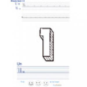 Imprimer la page d'écriture sur le un