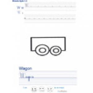 Imprimer la page d'écriture sur le wagon