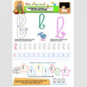 Apprendre à écrire le b en minuscule