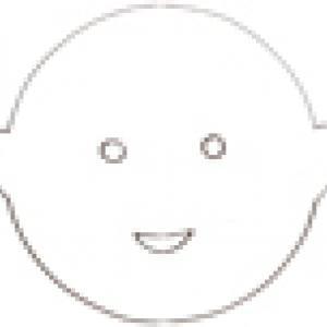 Masque enfant europe : imprimer le gabarit