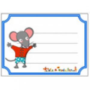 Etiquettes de cahier Mimi