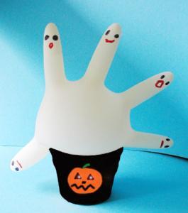 Réaliser une main aux fantômes