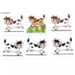 Jeu de la ferme : les vache de la ferme à imprimer