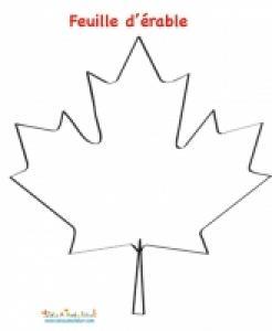 Mosaïque de la feuille d'érable du drapeau Canadien