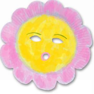Masque fleur