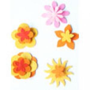 Fleurs relief