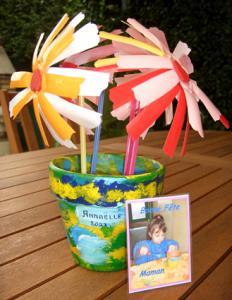 Le pot de fleurs d'Annaëlle