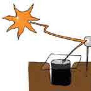 Four solaire enterré